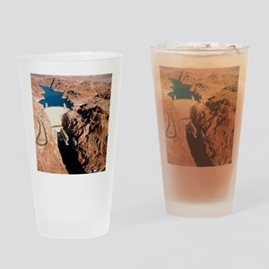 The Hoover Dam, Colorado River Drinking Glass