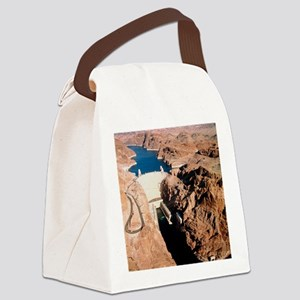 The Hoover Dam, Colorado River Canvas Lunch Bag