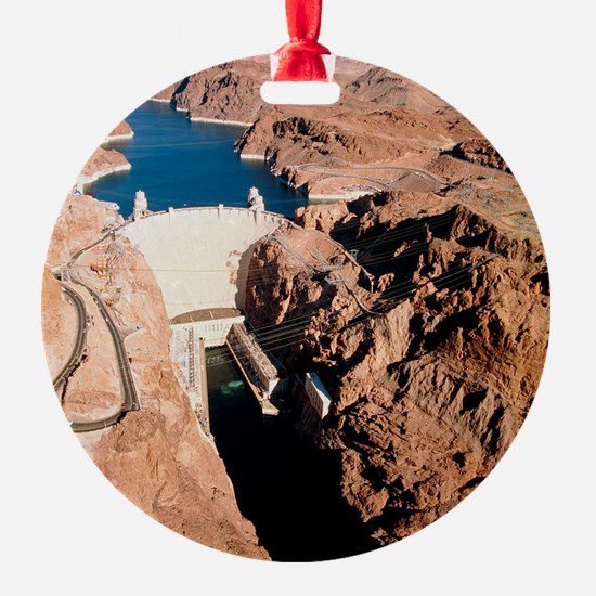 The Hoover Dam, Colorado River Ornament