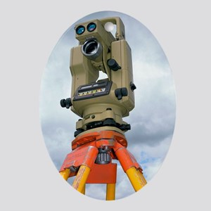 Theodolite Oval Ornament