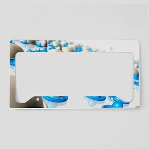 Contraception License Plate Holder