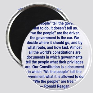 WE THE PEOPLE TELL THE GOVERNMENT WHAT TO D Magnet