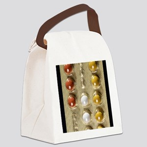 Contraceptive pills Canvas Lunch Bag