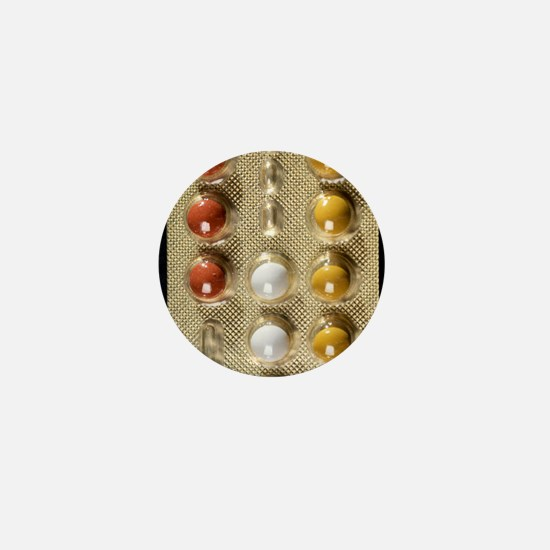 Contraceptive pills Mini Button