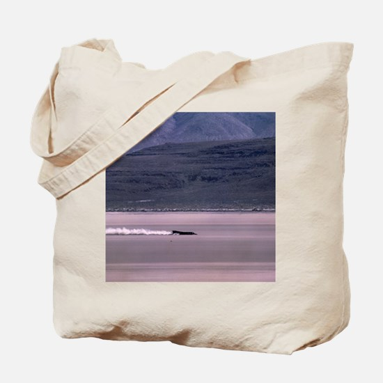 Thrust SSC, the world's first supersonic  Tote Bag