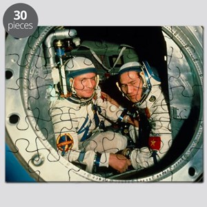 The crew of Soviet spacecraft Soyuz 37 Puzzle