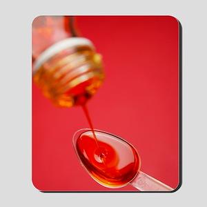 Cough medicine Mousepad