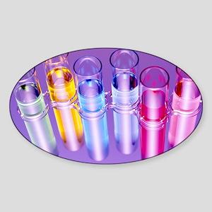 Test tubes Sticker (Oval)