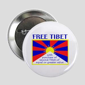 FREE TIBET* Button