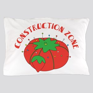 Construction Zone Pillow Case