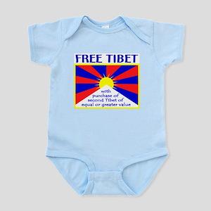 FREE TIBET* Infant Bodysuit