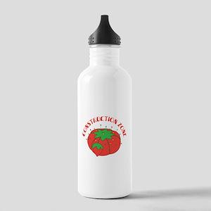 Construction Zone Water Bottle