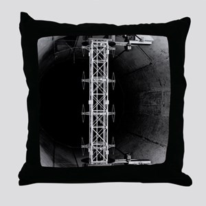 Testing transmission tower section, 1 Throw Pillow