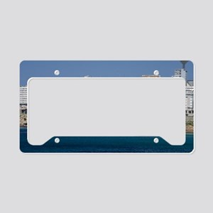 The Domus Museum License Plate Holder