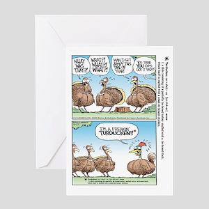 Thanksgiving Turkey Turducken Greeting Card