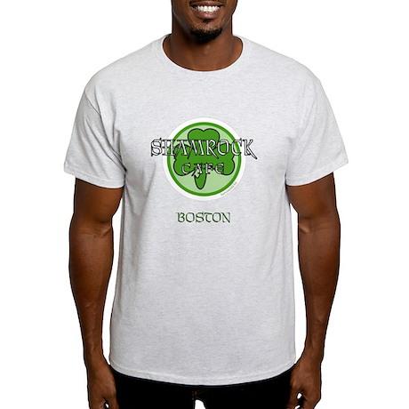 Shamrock Cafe-Boston Light T-Shirt