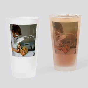 Cosmetic laser surgery Drinking Glass