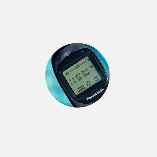 Text message Mini Button