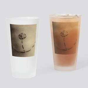 Cosmetic surgery markings Drinking Glass