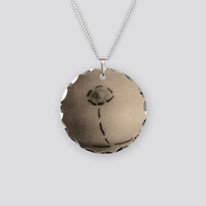 Cosmetic surgery markings Necklace Circle Charm