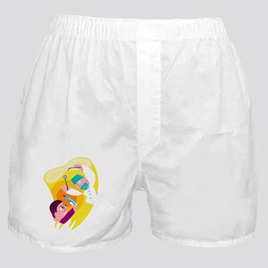 Dentist and patient Boxer Shorts