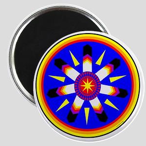 EAGLE FEATHER MEDALLION Magnet