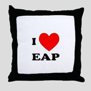 I Love EAP Throw Pillow