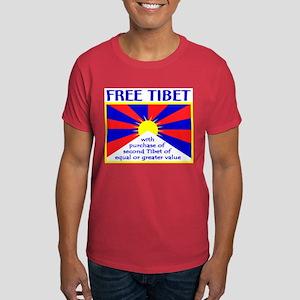 FREE TIBET* Dark T-Shirt