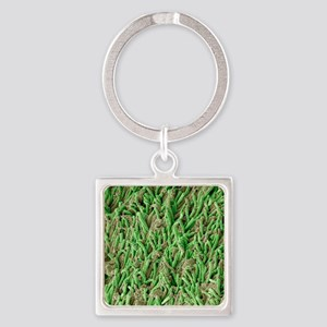 Dental plaque, SEM Square Keychain