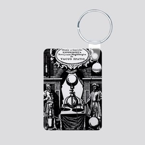 Title page of Guericke's E Aluminum Photo Keychain