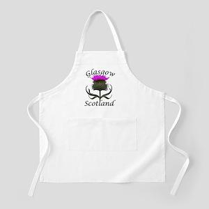 Glasgow Scotland Thistle Design Apron