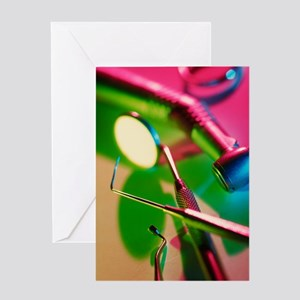 Dentistry equipment Greeting Card
