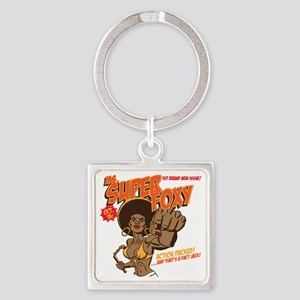 Ms. Super Foxy Square Keychain