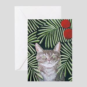 5x7Rousseaus Dream Cat Greeting Card