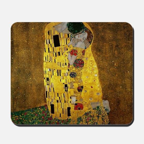 Gustav Klimt The Kiss Mousepad