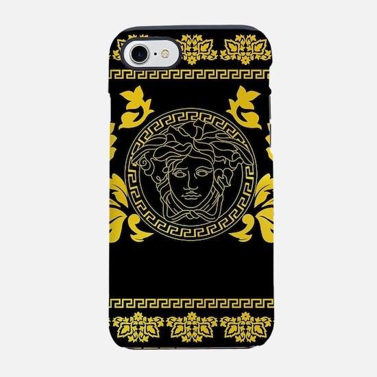 Gold Medusa iPhone 7 Tough Case