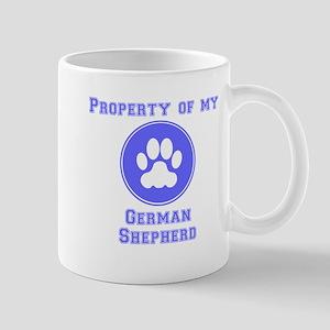Property Of My German Shepherd Mugs