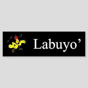 Labuyo' (Wild Chicken) Gifts Bumper Sticker