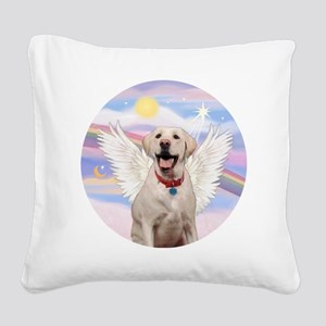 Labrador Angel (Y - Bz) Square Canvas Pillow