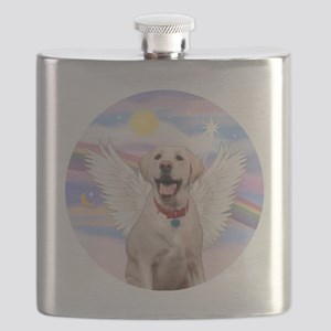 Labrador Angel (Y - Bz) Flask