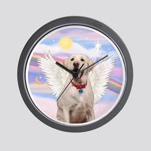 Labrador Angel (Y - Bz) Wall Clock
