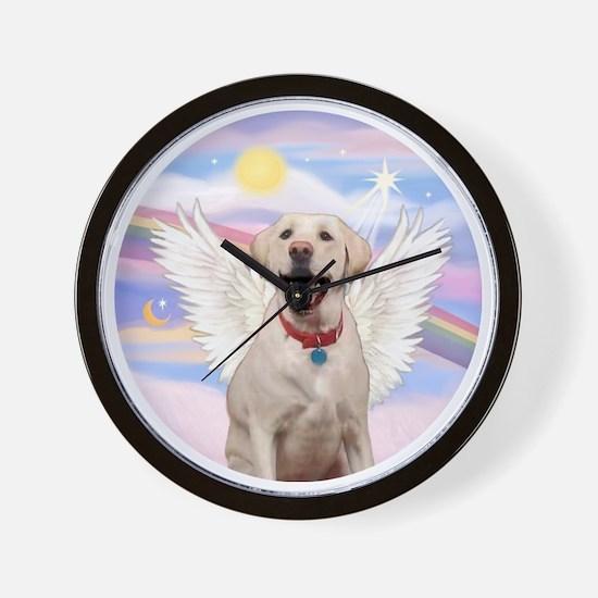 Labrador Angel (Y - Bz) Wall Clock