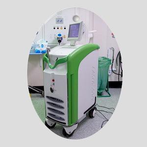Endoscopic laser surgery machine Oval Ornament