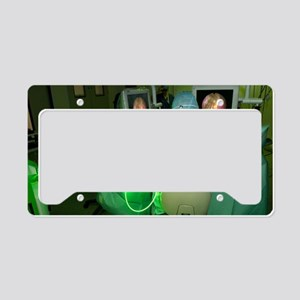 Endoscopic prostate surgery License Plate Holder