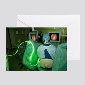Endoscopic prostate surgery Greeting Card