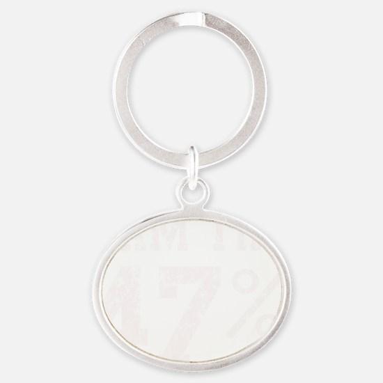 I am the 47% Romney Speech t shirt Oval Keychain