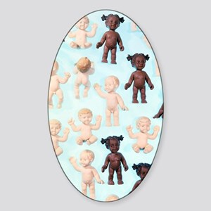 Dolls Sticker (Oval)