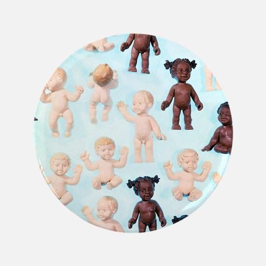 """Dolls 3.5"""" Button"""