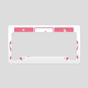 Tri for the Cure License Plate Holder