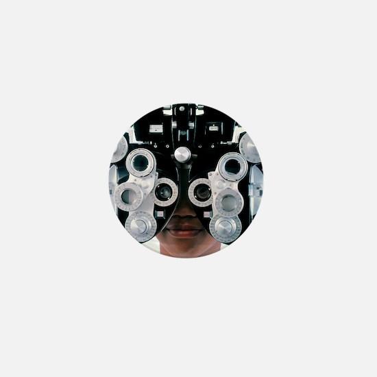 Eye examination Mini Button